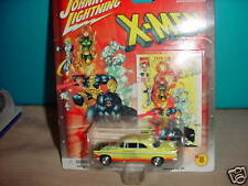 JL MARVEL X-MEN '55 CHRYSLER C-300 #8 CHASE CAR WITH RUBBER TIRES MIP FREE SHIP