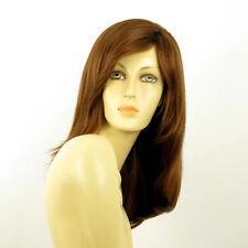 Perruque femme longue châtain doré cuivré HILARY 30