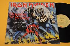 IRON MAIDEN LP NUMBER OF... ORIG ITALY 1982 EX++ ! HARD ROCK METAL