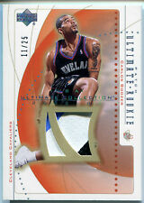 2002-03 Ultimate Collection CARLOS BOOZER Rare 3 Color Patch RC SP Rookie #/25