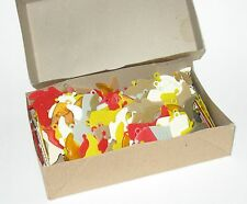 1960s Wholesale box of 144 (1 gross) Hard Plastic Cowboy Boot Charms HK Mint