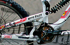Hippie Killer Mountain Bike Downhill Racer DH Vinyl Decal Sticker CUSTOM