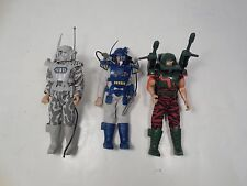 LOT VINTAGE TONKA SPIRAL ZONE ACTION FIGURES 1987 REAPER MAX JONES DIRK COURAGE