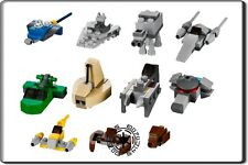 LEGO STAR WARS - 11 x MINI VEHICLES LOOSE FROM ADVENT CALENDAR SET 9509
