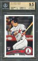 Mike Trout Rookie Card 2011 Topps Update #Us175 Angels BGS 9.5 (9 9.5 9.5 9.5)