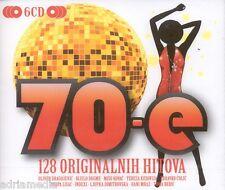 70-e Ljupka  6 CD 128 originalnih hitova Oliver Bijelo Dugme Tereza Zdravko Box