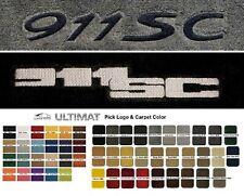 Lloyd Mats Porsche 911 SC Custom Embroidered Front Floor Mats (1978-1983)