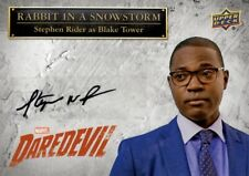 Upper Deck Marvel Daredevil Autograph Card, SS-SR Stephen Rider as Blake Tower
