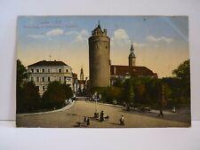 AK Lauban / Lubań Wilhelmsplatz 1917  Niederschlesien Polen