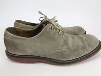 Jos A. Bank mens Tan suede/leather casual oxford size 8.5 Men's Fast Free Ship