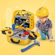 Kids Repair Tools Suitcase Simulation Plastic Pretend Play Toy Set For Children