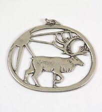 Norway Pewter Moose Pendant