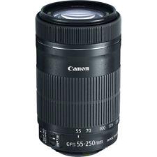 Canon EF-S 55-250mm f/4-5.6 IS STM Caja Blajca - Objetivo Garantía