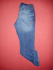 Designer Ben Sherman Zip-Fly - Mens Blue Denim Jeans - Waist 32 Leg 32 - K503