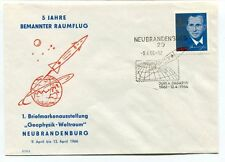 1966 5 Jahre Bemannter Raumflug Geophysik Weltraum Neubrandenburg DDR SPACE