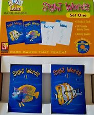 Sight Words Excellent Condition 2 Decks of Cards Cd with 24 Pdf activities Intac