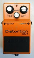 BOSS DS-1 Distortion Guitar Effects Pedal made in Japan 1985 #125 Free Shipping