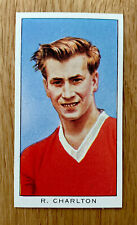 RARE BOBBY CHARLTON Card -KELLOGG International Soccer 1960-1 Manchester United