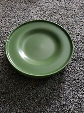 "4 Ikea of Sweden 15199 Rustic Speckled Green 9"" Salad Dessert Plates Side Plate"