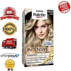 Schwarzkopf Napro Palette Permanent Hair Colouring 9.5-1 Ashy Light Blonde
