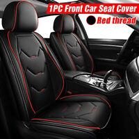 Universal Nero Auto Anteriore PU Pelle Coprisedili Fodere Foderine Per Ford