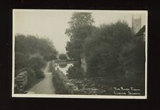 Gloucester Glos CHIPPING SODBURY River Frome c1910/20s? RP PPC local pub Dowding