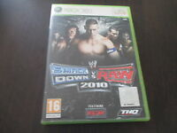 jeu xbox 360 smackdown vs raw 2010