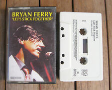 BRYAN FERRY Let's Stick Together (1976) MC TAPE ORIGINALE EG ‎– EGMC 24