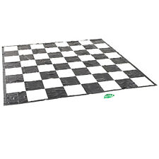 Garden Games Giant Chess/draughts Mat - Super Strong PVC 3m X 3m