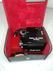 CANON SERVO EE FINDER IN ORIGINAL CANON CASE