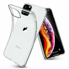 Transparent Silicone Clear Back Cover Case For iPhone 11 Pro Max 7+ 8 X XS XR 6S