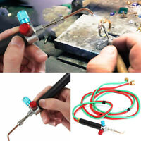 Jewelry Jewelers Micro Mini Gas Little Torch Welding Soldering Kit Tools+5 Tips