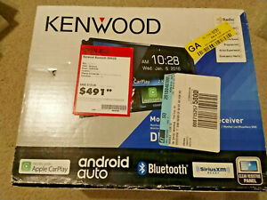 """Kenwood DDX9703S 6.95"""" Android Auto/Apple CarPlay Bluetooth Receiver"""