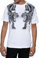 Sean John Mens T-Shirt Classic White Size 2XL Crawler Graphic Tee $39- 223