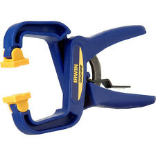 """Irwin Tool Handi Quick Grip One Handed Clamp 100mm """"4 Quick Relese"""