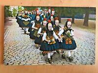 3 VINTAGE POSTCARDs Hesse Germany lot HESSISCHE TRACHTTEN Ansichtskarte children