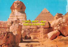 L096457 Giza. The Great Sphinx and the Pyramid of Kephre. 1991