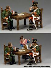 KING & COUNTRY AGE OF NAPOLEON NA313 FRENCH HUSSAR'S REST & REFRESHMENT MIB