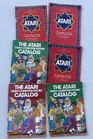 Lot of 6 Atari 2600 Activision Catalog's