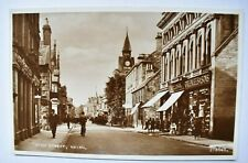 More details for vintage postcard high street nairn scotland unposted valentines real photo rp
