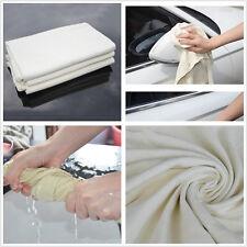 High Quality 50 x 80cm Natural Drying Chamois Cleaning Cloth Car Washing Towel