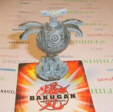 Bakugan Alto Brontes Gray Haos Battle Damaged B3 Bakucore 640G & cards