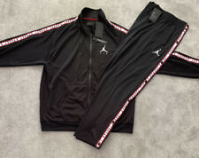 NEW Mens Nike Air Jordan Tricot AJ Tracksuit SET FZ Jacket & Bottoms Casual Gym
