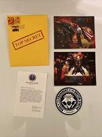 Metal Wolf Chaos Playstation 4 PS4 Propaganda Envelope SRG Preorder Bonuses ONLY