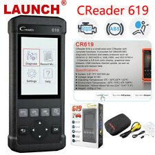 2020 Launch OBDII Scanner CR619 Engine ABS SRS Airbag Car Diangostic Tool US