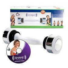 Shake Weight Mancuernas mujer mantener Fitness DVD nuevo ejercicio de tóner de la parte superior del cuerpo