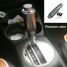 Aluminum CNC Titanium Auto Car Gear Stick Shift Knob Shifter Lever With Button