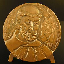 Médaille Guy Guido d'Arezzo l'Arétin Aretinus Monaco moine musicien music medal