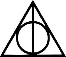 Deathly Hallows Harry Potter - Vinyl Sticker Decal