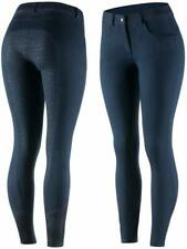 Horze Kate Silicone Full Seat Breeches - US 34 Navy